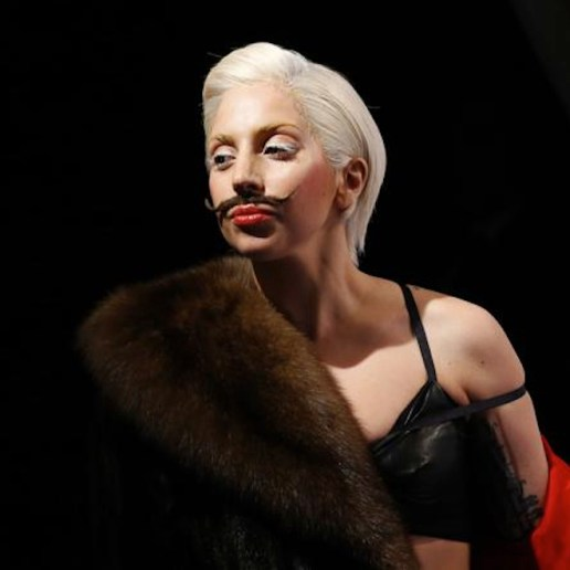 "Lady Gaga Peforms New ""Gypsy"" Song"