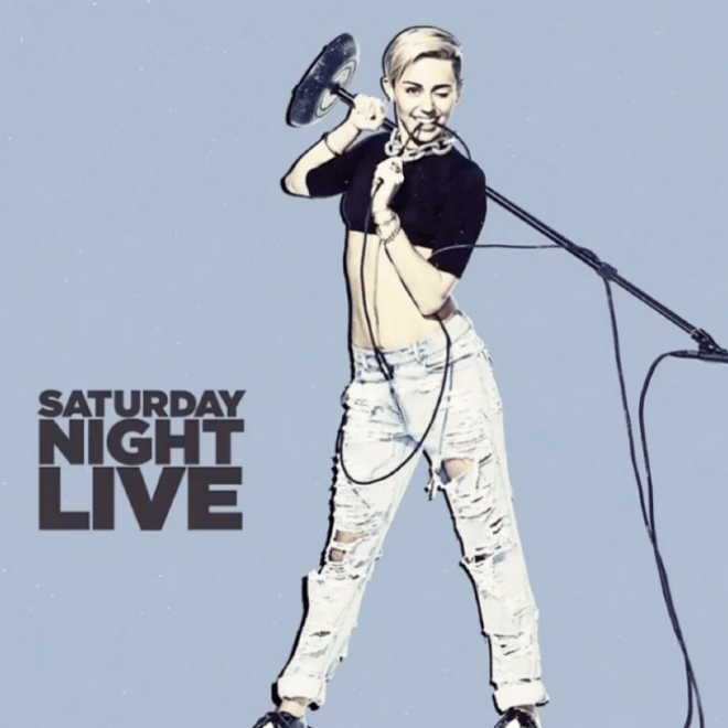 Miley Cyrus - SNL Performance