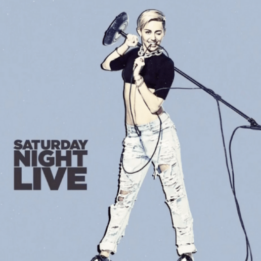 Miley Cyrus - SNL Performance