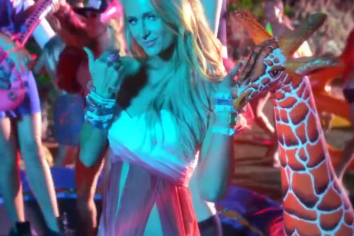 Paris Hilton featuring Lil Wayne - Good Time (Produced by Afrojack) [Teaser]