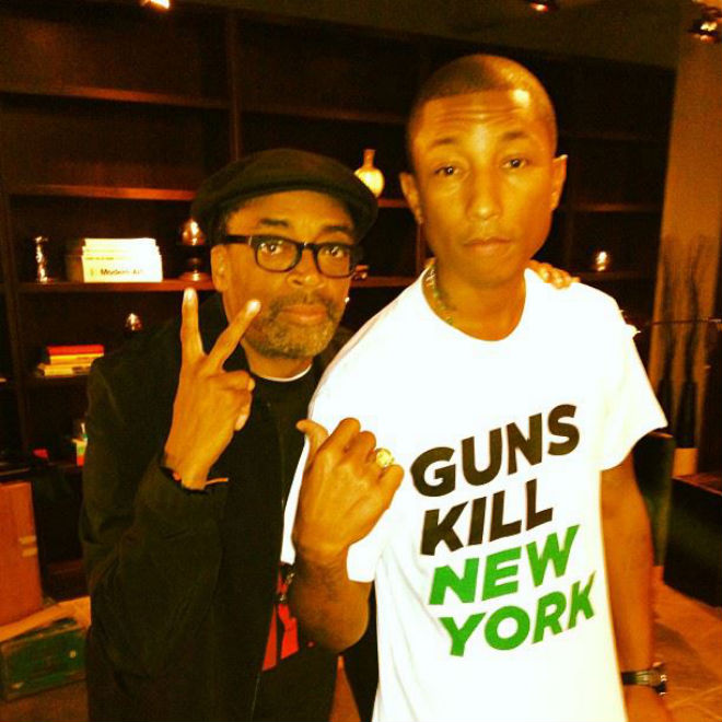 Spike Lee & Pharrell Williams Speak on Anthems and Artists