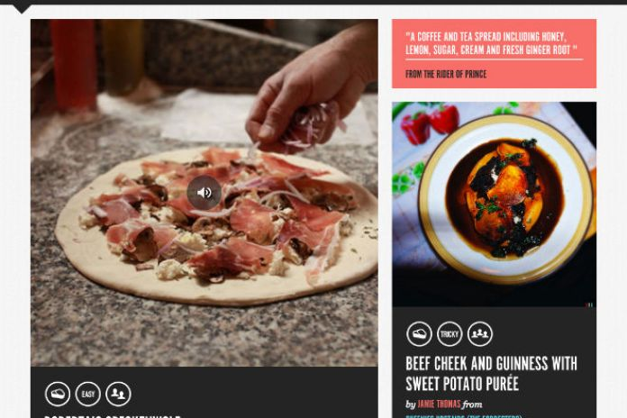 Spotify Serves Food-Based Supper App