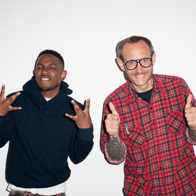 Kendrick Lamar Meets Terry Richardson