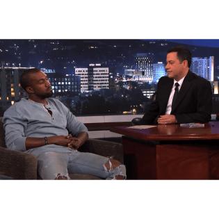 Watch Kanye West on 'Jimmy Kimmel Live'