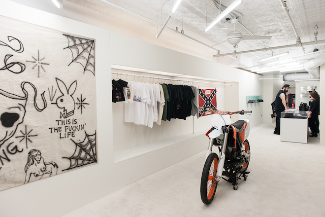 a closer look inside the yeezus tour nyc pop up shop