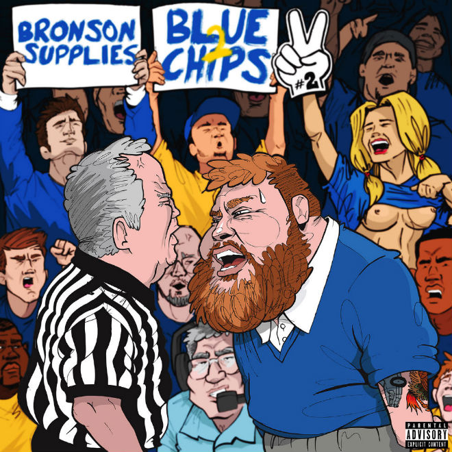 Action Bronson & Party Supplies - Blue Chips 2 (Mixtape)