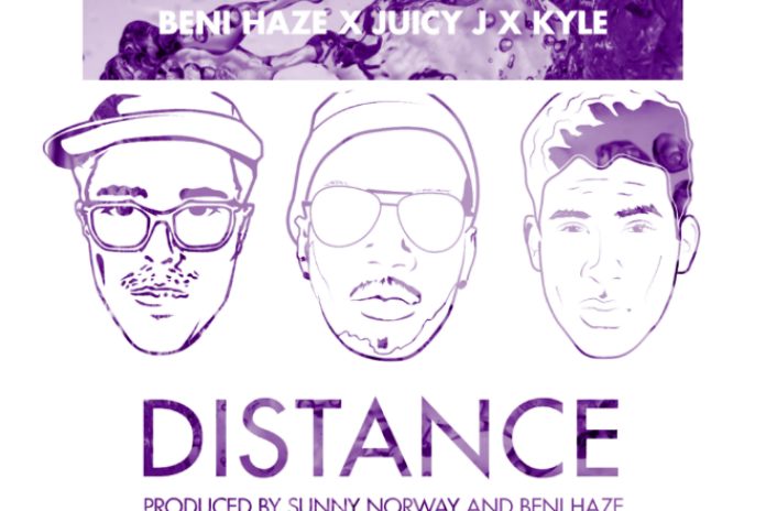 Beni Haze featuring Juicy J & KYLE - Distance