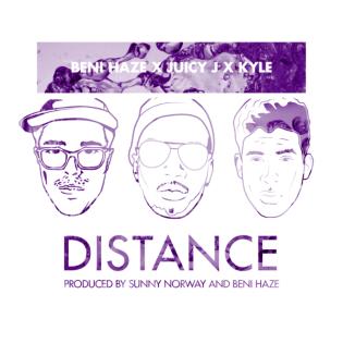 Beni Haze featuring Juicy J & KYLE - Distance