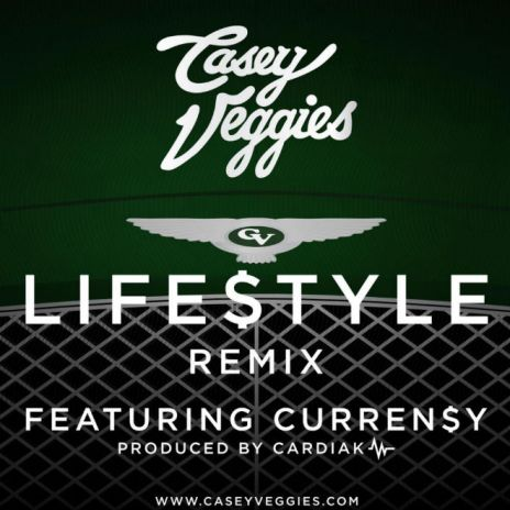Casey Veggies featuring Curren$y - Life$tyle (Remix)