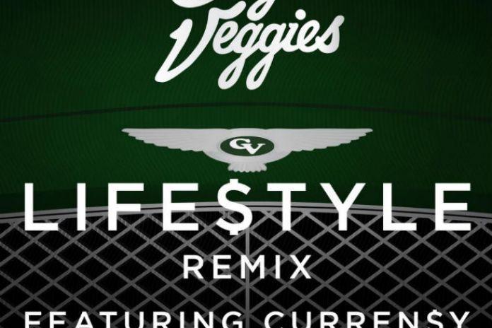 Casey Veggies featuring Curren$y - Life$tyle (Remix)
