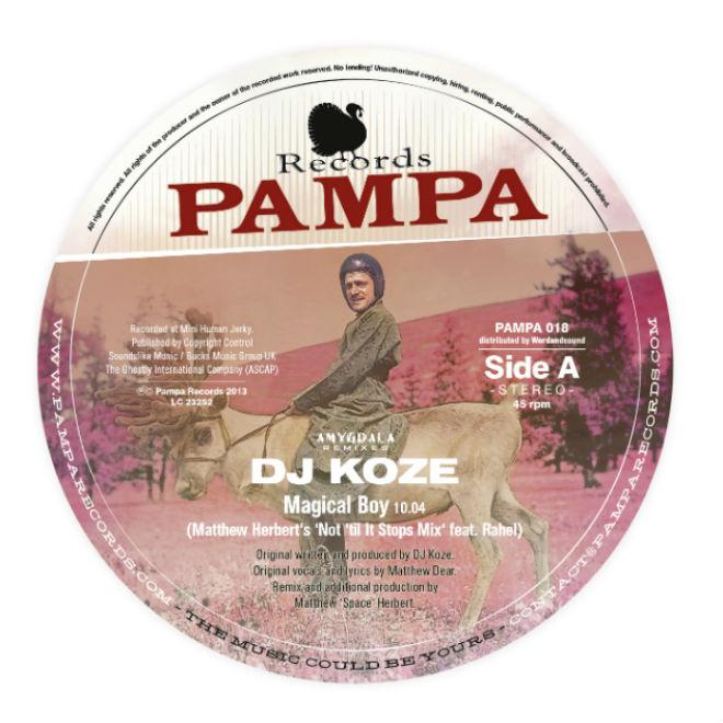 DJ Koze - Magical Boy (Matthew Herbert Remix)
