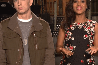 Eminem & Kerry Washington Star in SNL Promo