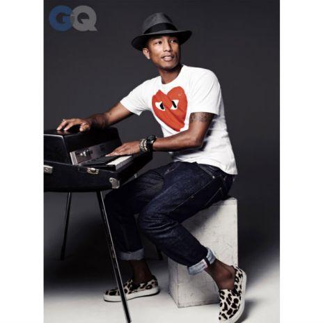 "GQ Names Pharrell Williams ""Hitmaker of the Year 2013"""