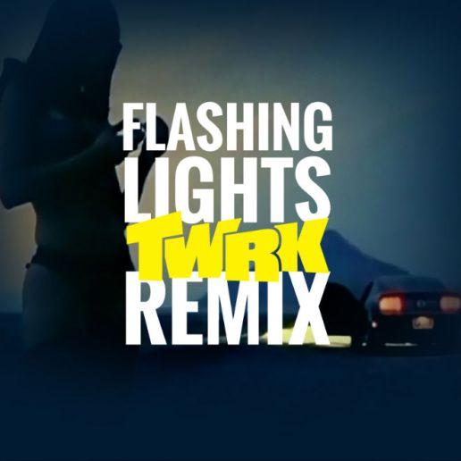 Kanye West - Flashing Lights (TWRK Remix)