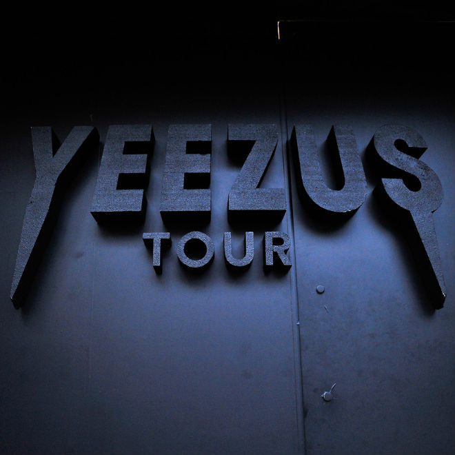 Kanye West Opens Yeezus Tour Pop-Up Shop In New York