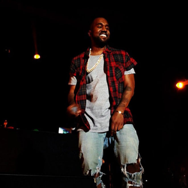 Kanye West Performs at the Odd Future Carnival
