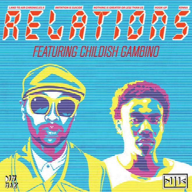 Kenna featuring Childish Gambino - Relations (Remix)