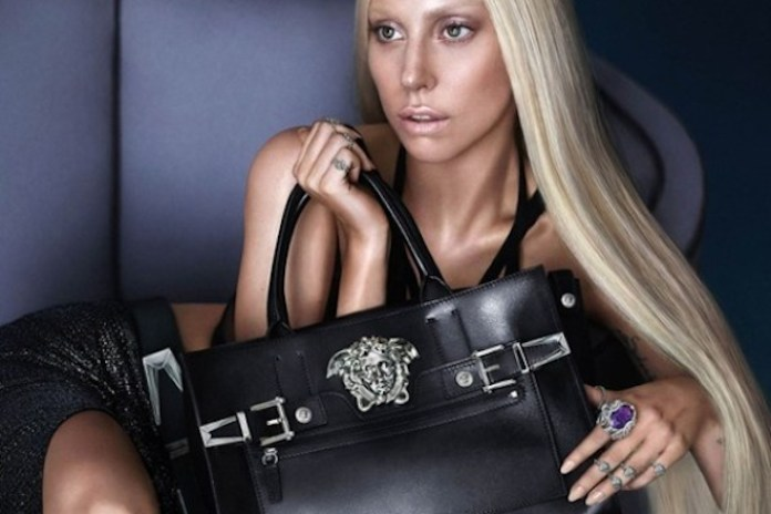 Lady Gaga Has Been Named The New Face of Versace