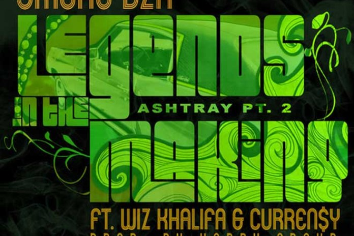 Smoke DZA featuring Wiz Khalifa & Curren$y - Legends In The Making (Ashtray Pt. 2)