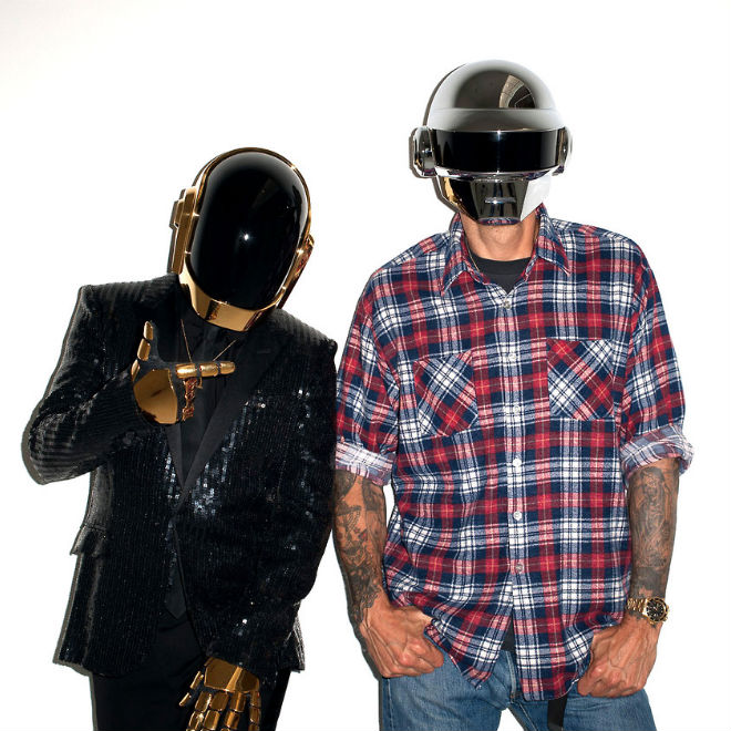 Terry Richardson Meets Daft Punk