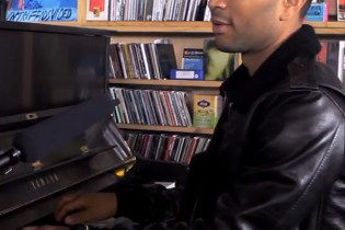 Watch John Legend's NPR Tiny Desk Concert