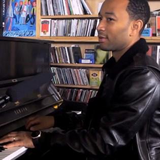Watch John Legend's NPR Tiny Desk Concert