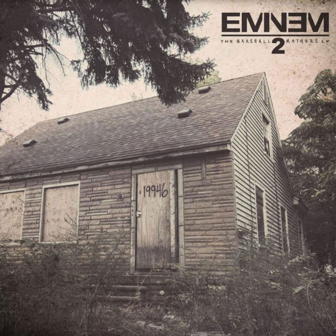 #WhoSampled: Eminem – The Marshall Mathers LP 2 (Album Samples)