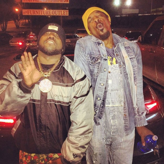André 3000 & Big Boi Pictured Together in Atlanta