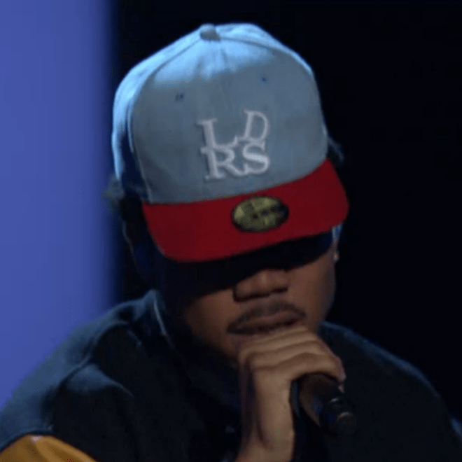 Chance The Rapper - Chain Smoker (Live on The Arsenio Hall Show)