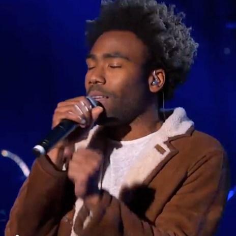 "Childish Gambino Performs ""3005"" and ""Crawl"" on Jimmy Kimmel Live"