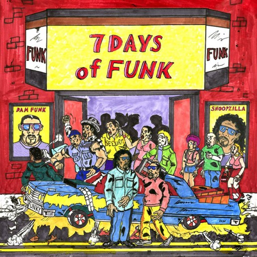 Dâm-Funk & Snoopzilla - 7 Days of Funk (Album Stream)