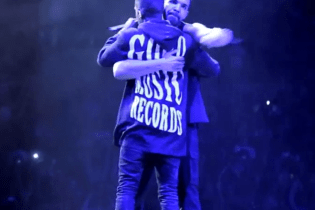 "Drake and Big Sean Perform ""All Me"" in Detroit"