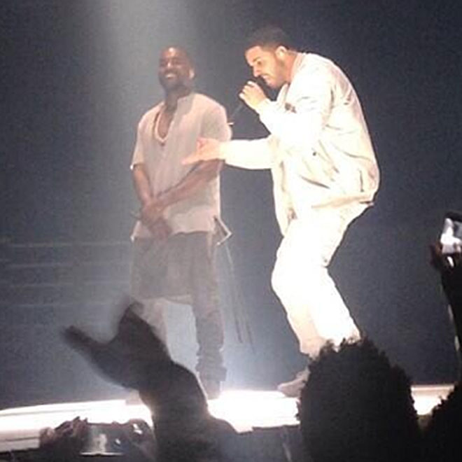 Kanye West Brings Drake Out for Final Yeezus Show