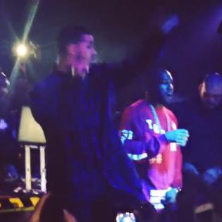 Drake Performs in Toronto Nightclub, Brings Out Kanye West