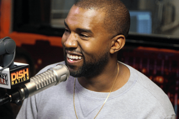 Kanye West Visits The Rickey Smiley Morning Show