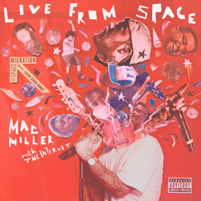 Mac Miller Announces 'Live From Space' Album, Shares Cover & Tracklisting