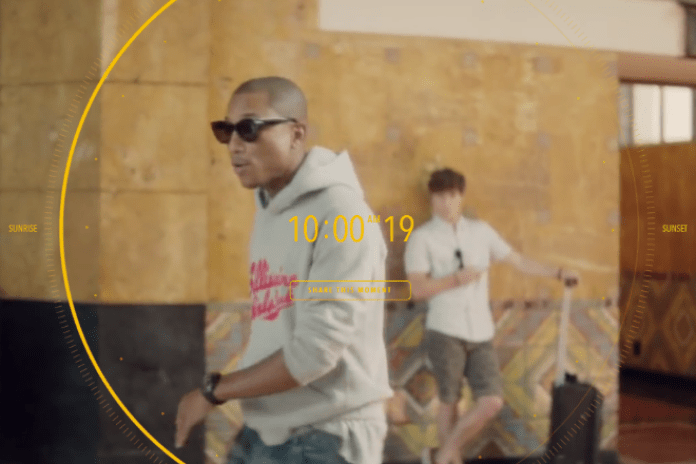 Pharrell - Happy (Behind The Scenes)
