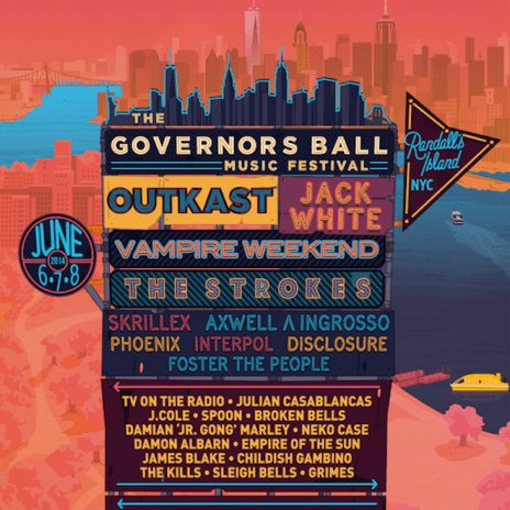 2014 Governors Ball Lineup Announced