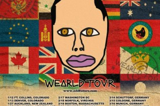 Earl Sweatshirt Annonces 'WEARLD' Tour