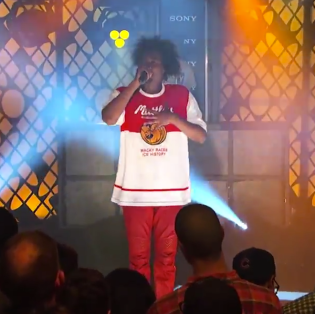 "Danny Brown Performs ""25 Bucks"" on Jimmy Kimmel Live"