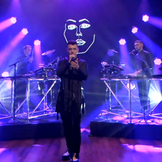 Disclosure featuring Sam Smith - Latch (Live on Fallon)