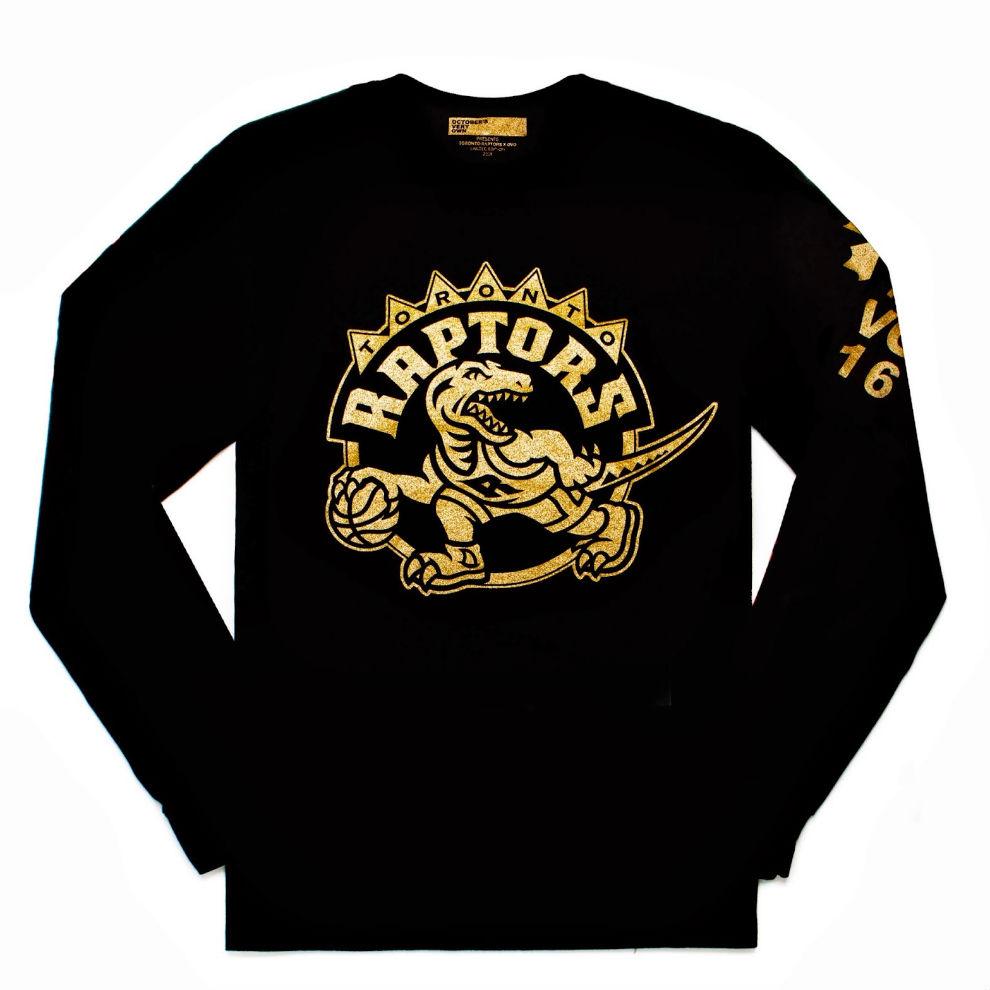 drake reveals toronto raptors x ovo drake night shirt