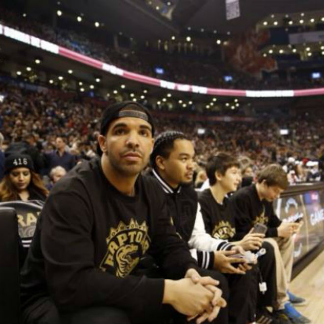 "Drake & The Toronto Raptors Celebrate ""Drake Night"""