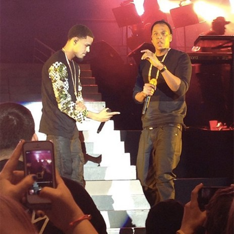 J. Cole Brings Kendrick Lamar and Jay Z on Stage at Madison Square Garden