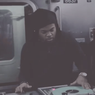 Jam Master Jay's Son DJs a Jay Z-Inspired Mix Live On A Subway