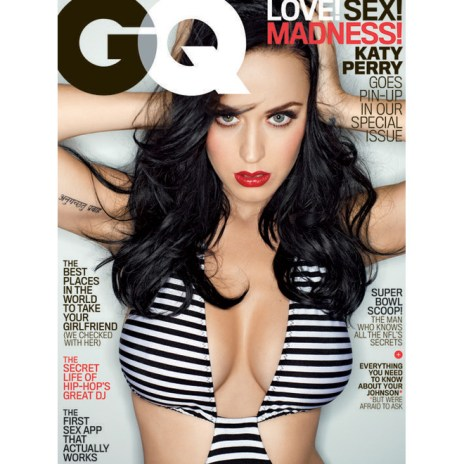 Katy Perry Covers February Issue of GQ