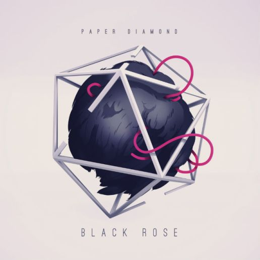 HYPETRAK Premiere: Paper Diamond - Black Rose