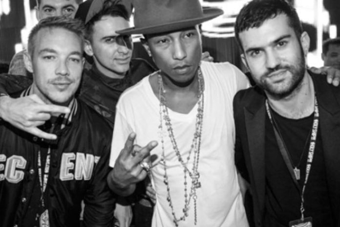Pharrell Debuts Major Lazer Collaboration at Holy Ship!!!
