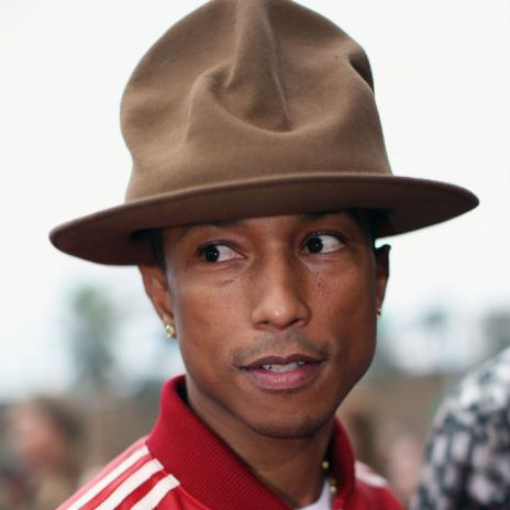Pharrell Williams' GRAMMY Hat Has A Hip-Hop History