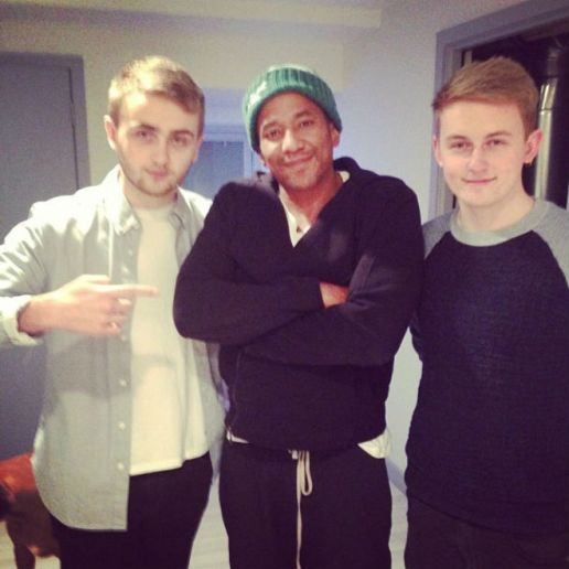 Q-Tip Hits the Studio with Disclosure